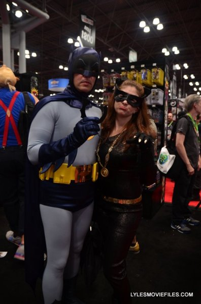 New York Comic Con 2015 cosplay -1966 Batman and Catwoman