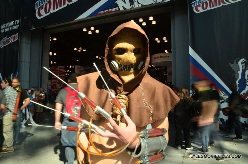 New York Comic Con 2015 cosplay - Arkham Asylym Scarecrow