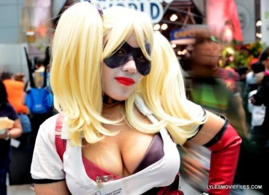 New York Comic Con 2015 cosplay -Arkham Harley