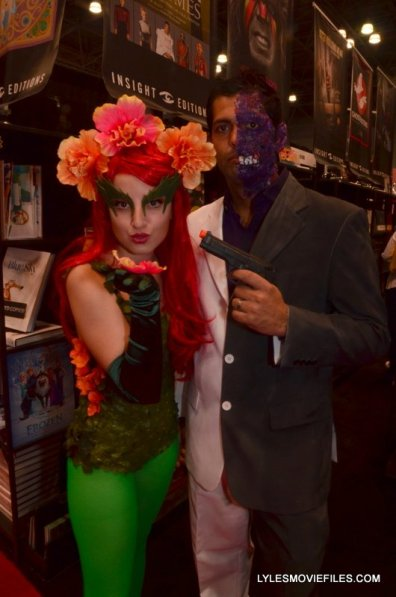 New York Comic Con 2015 cosplay -Batman & Robin Poison Ivy and Two Face 2