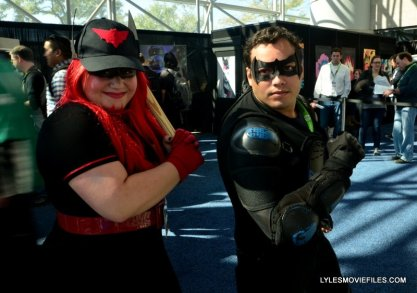 New York Comic Con 2015 cosplay -Batwoman and Nightwing
