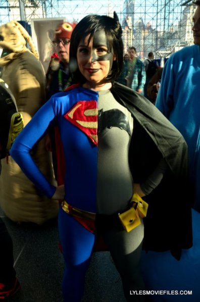 New York Comic Con 2015 cosplay - Composite Superman Batman