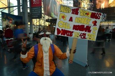 New York Comic Con 2015 cosplay - Dragonball Z Master Roshi