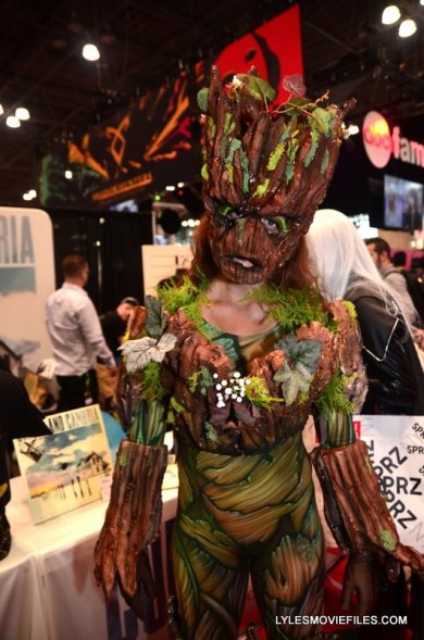 New York Comic Con 2015 cosplay - Groot 1