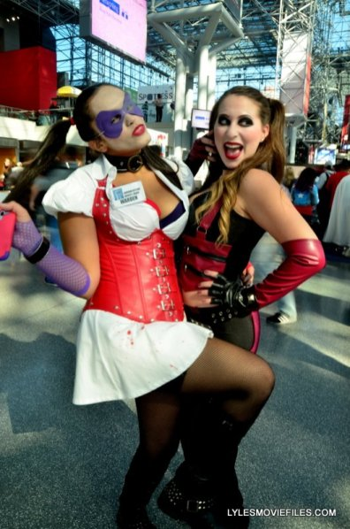 New York Comic Con 2015 cosplay - Harley and Harley 2