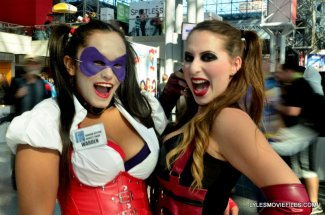 New York Comic Con 2015 cosplay - Harley and Harley