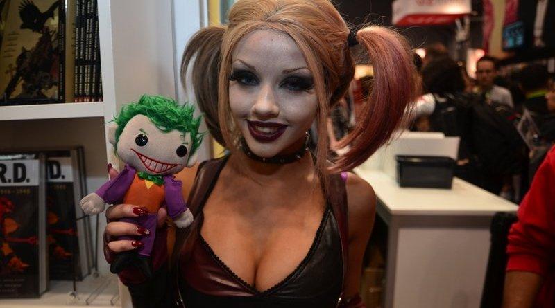 New York Comic Con 2015 cosplay -Harley Arkham 2