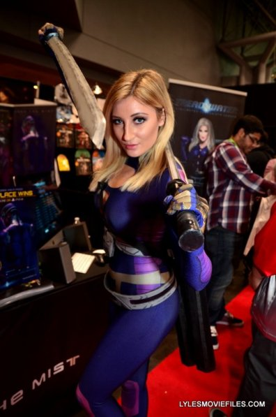 New York Comic Con 2015 cosplay - Holly Wolf as Lilith