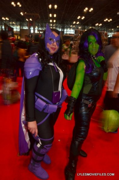 New York Comic Con 2015 cosplay - Huntress and Gamora
