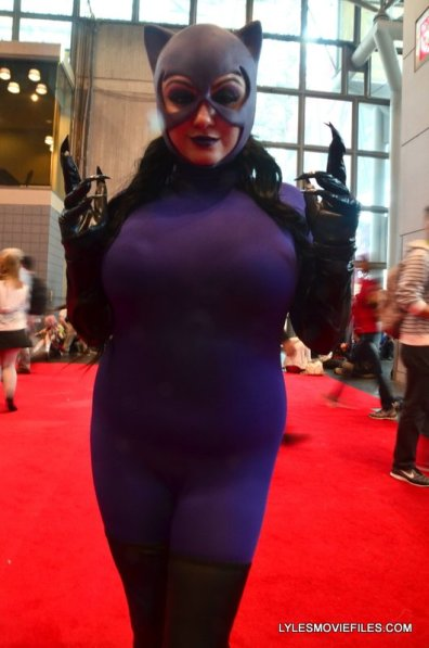 New York Comic Con 2015 cosplay -Jim Balent Catwoman