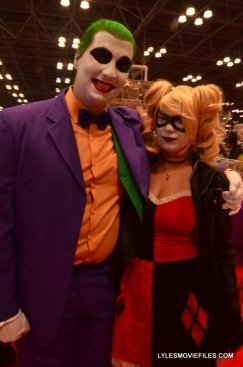 New York Comic Con 2015 cosplay -Joker and Arkham Harley