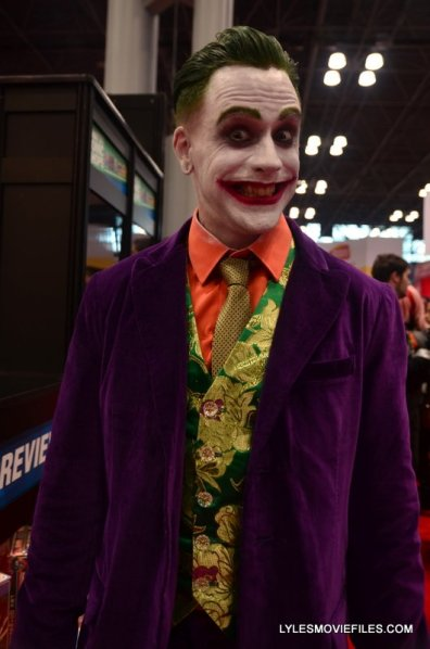 New York Comic Con 2015 cosplay -Joker purple