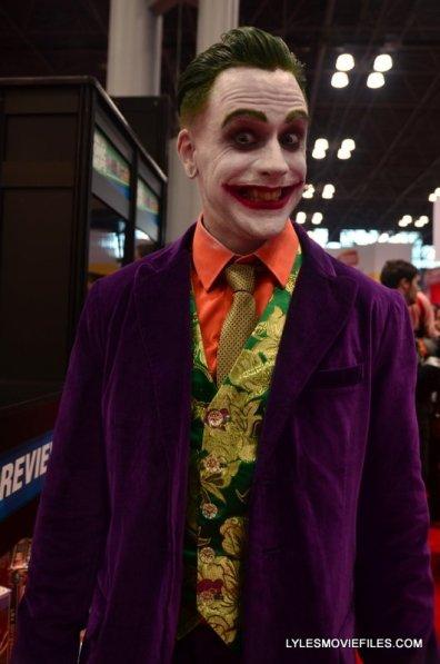 New York Comic Con 2015 cosplay -Joker purple