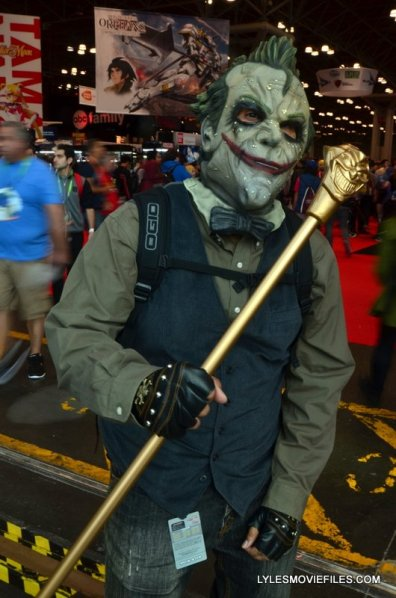 New York Comic Con 2015 cosplay - Joker with cane
