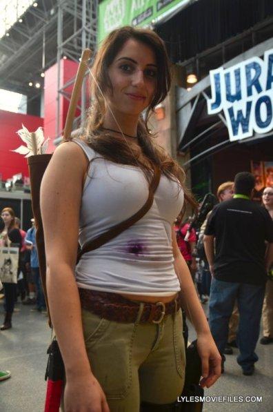 New York Comic Con 2015 cosplay - Lara Croft