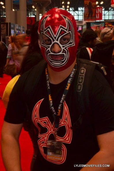 New York Comic Con 2015 cosplay - Luchadore