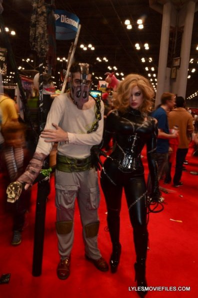 New York Comic Con 2015 cosplay - Mad Max and Selina Kyle