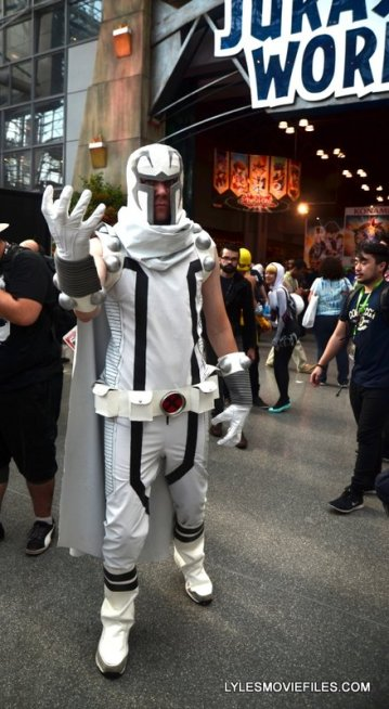 New York Comic Con 2015 cosplay - Magneto white costume