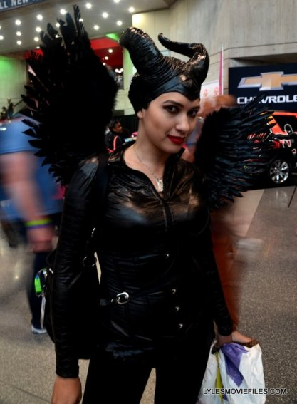 New York Comic Con 2015 cosplay -Maleficent