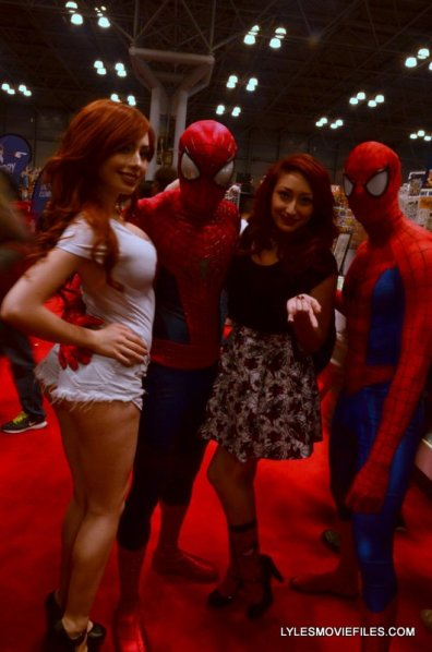 New York Comic Con 2015 cosplay - Mary Jane and Spider-Man couples 2