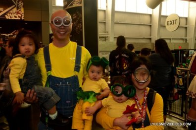 New York Comic Con 2015 cosplay - Minion family