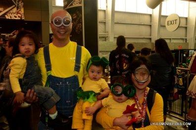 New York Comic Con 2015 cosplay - Minion family