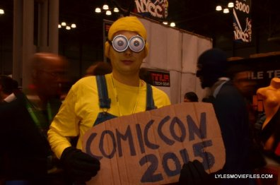 New York Comic Con 2015 cosplay - Minion