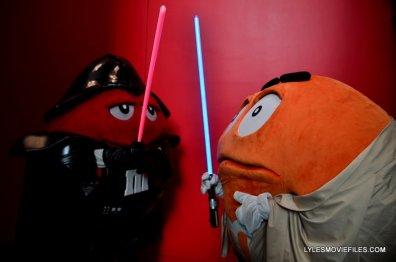 New York Comic Con 2015 cosplay - M&M Vader vs Luke