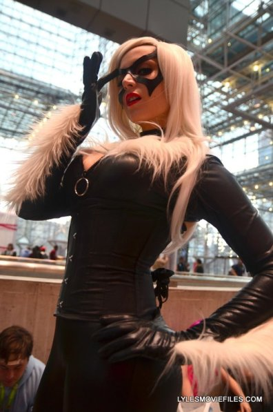 New York Comic Con 2015 cosplay -Negative Stacey as Black Cat