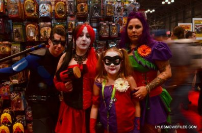 New York Comic Con 2015 cosplay - Nightwing, Harleys and Joker
