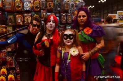 New York Comic Con 2015 cosplay - Nightwing, Harleys and Joker