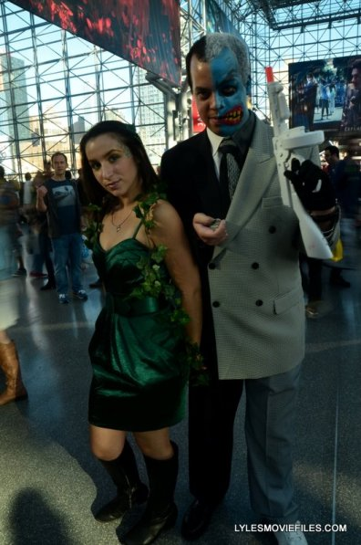New York Comic Con 2015 cosplay - Poison Ivy and Harvey Dent Two-Face