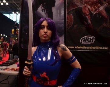 New York Comic Con 2015 cosplay - Psylocke