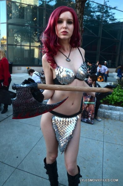 New York Comic Con 2015 cosplay - Red Sonja