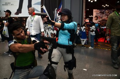 New York Comic Con 2015 cosplay - Resident Evil 5 Chris and Jill