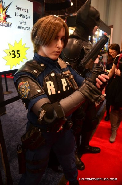 New York Comic Con 2015 cosplay - Resident Evil Leon