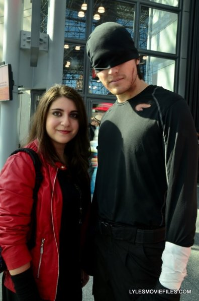 New York Comic Con 2015 cosplay -Scarlet Witch and Daredevil