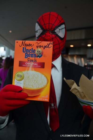New York Comic Con 2015 cosplay - Spider Man Uncle Ben