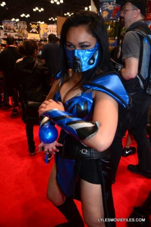New York Comic Con 2015 cosplay -Sub-Zero