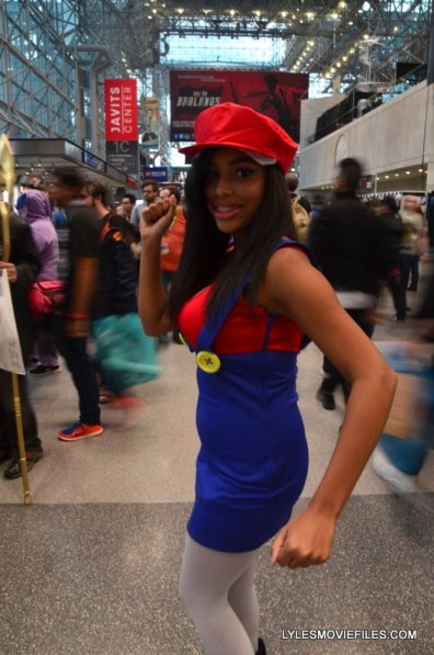 New York Comic Con 2015 cosplay - Super Mario