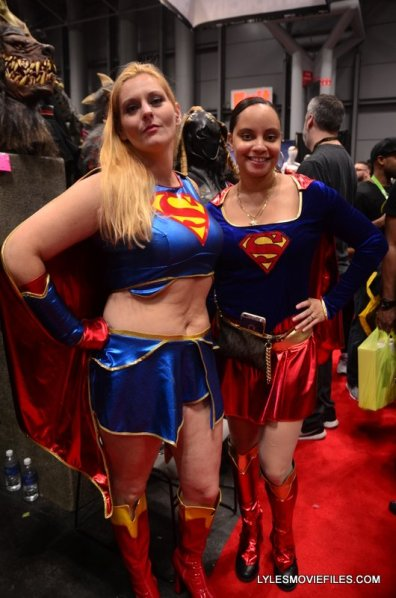 New York Comic Con 2015 cosplay - Supergirls