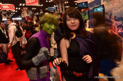 New York Comic Con 2015 cosplay - Teen Titans Beast Boy and Raven