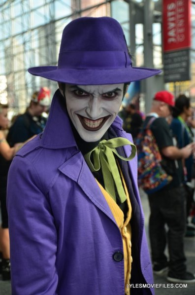 New York Comic Con 2015 cosplay - The Joker brian bolland version