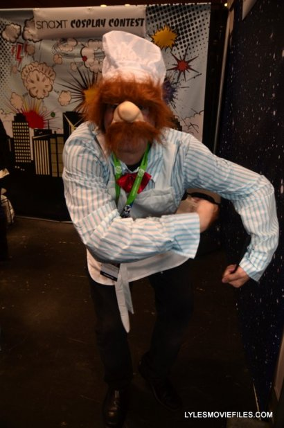 New York Comic Con 2015 cosplay -The Muppets Swedish Chef