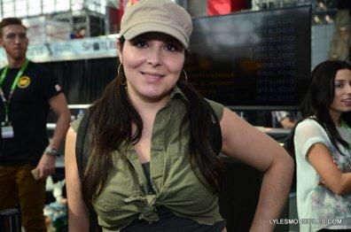 New York Comic Con 2015 cosplay -Walking Dead Rosita