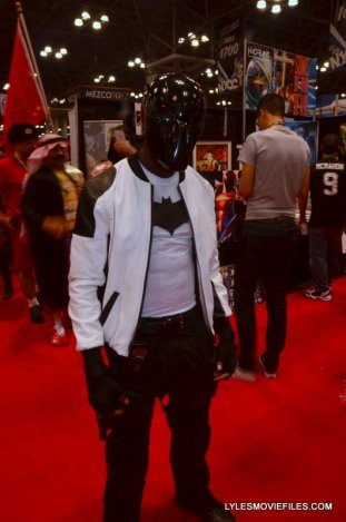New York Comic Con 2015 cosplay -white and black Hood