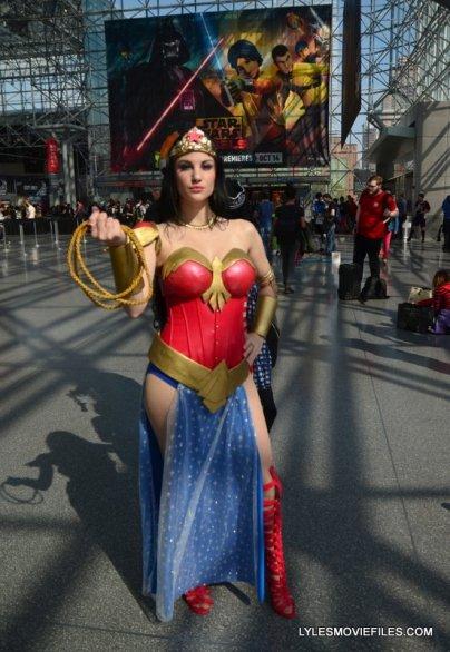 New York Comic Con 2015 cosplay - Wonder Woman
