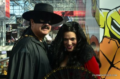 New York Comic Con 2015 cosplay - Zorro and Elena