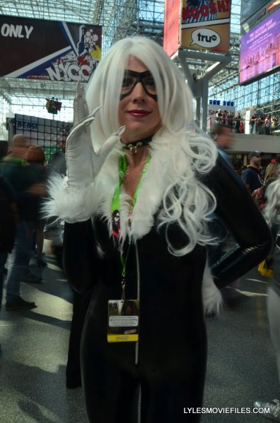 New York Comic Con cosplay - Black Cat 2