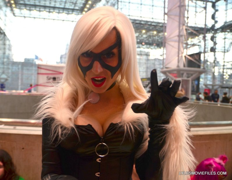 New York Comic Con cosplay - Black Cat Negative Stacey